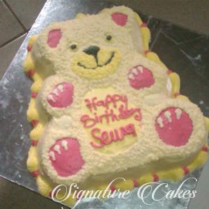 Products Home Teddy Bear Birthday Cake